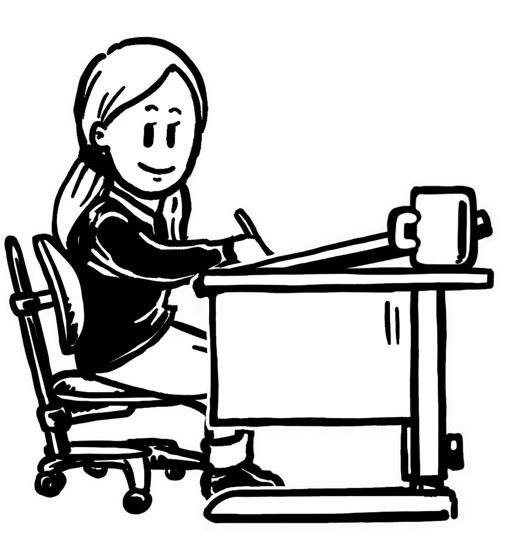 Stuhl schule clipart  Hausaufgaben ohne Stress - Zuhause besser lernen