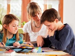 Elternrolle bei den Hausaufgaben