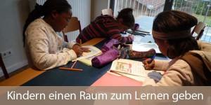 Kindern einen Raum zum Lernen geben