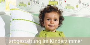Farbgestaltung im Kinderzimmer  Kinderzimmer gestalten