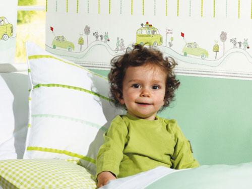 farbgestaltung im kinderzimmer | kinderzimmer gestalten - Kinderzimmer Gestalten Baby Gelb