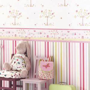 Farbgestaltung im kinderzimmer kinderzimmer gestalten - Babyzimmer tapete gestaltung ...