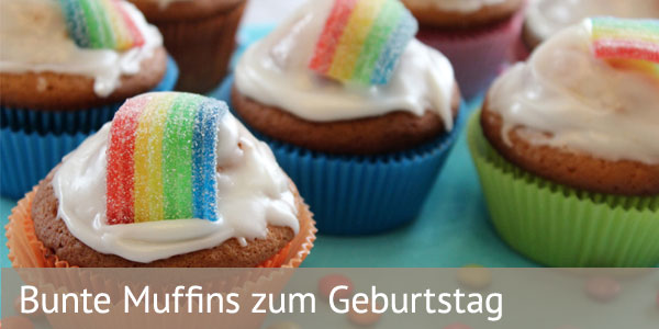 kreative muffins f r den kindergeburtstag backen. Black Bedroom Furniture Sets. Home Design Ideas