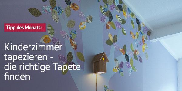 Kinderzimmerhaus magazin tipps und ideen - Babyzimmer tapete gestaltung ...