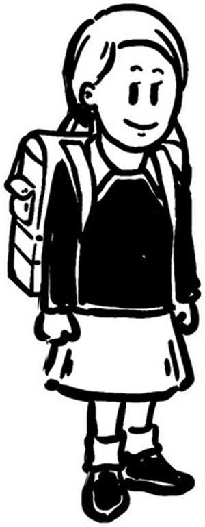 Schulkinder - Jungen Und Mädchen Mit Schulranzen Lizenzfrei Nutzbare  Vektorgrafiken, Clip Arts, Illustrationen. Image 60719298.