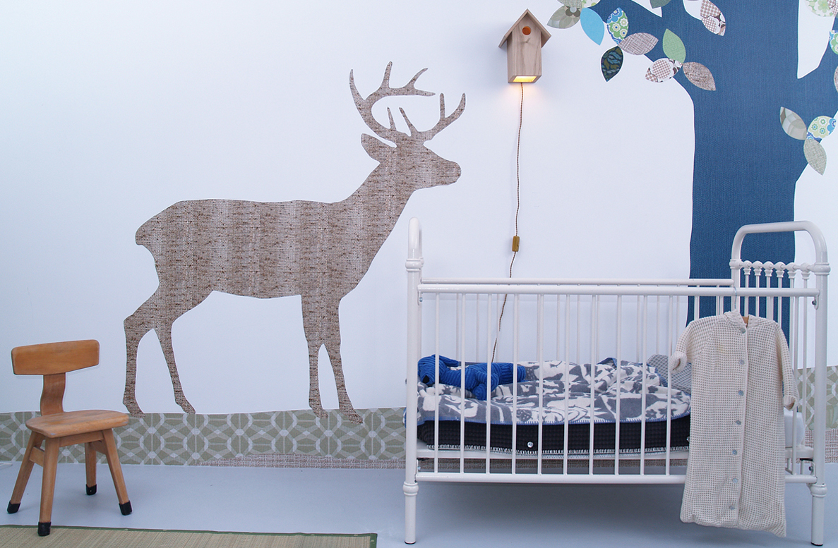 wandbemalung kinderzimmer deeviz for wandschablonen selber machen - Wandbemalung Kinderzimmer