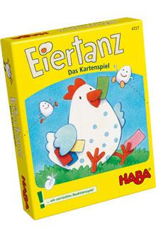 Haba Kartenspiel Eiertanz zu Ostern schenken