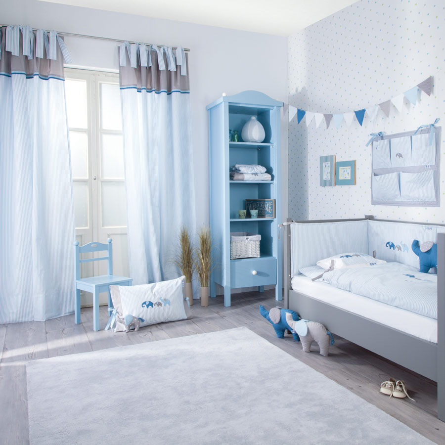 gardinen im kinderzimmer 12 ideen f r die gestaltung. Black Bedroom Furniture Sets. Home Design Ideas
