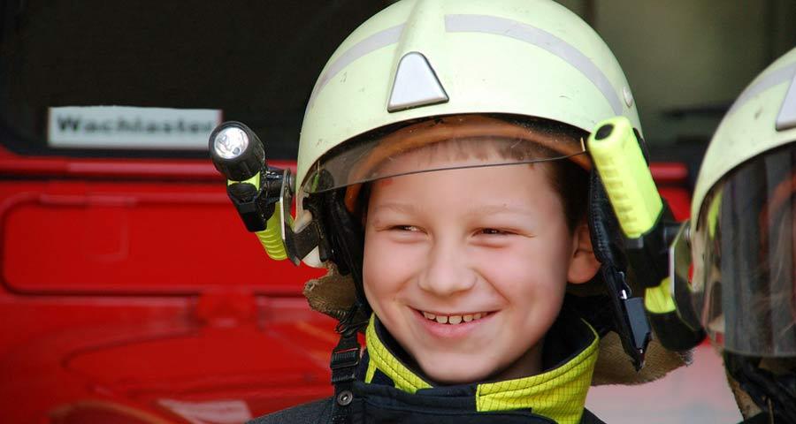 Brandschutzerziehung und Gefahrentraining für Kinder