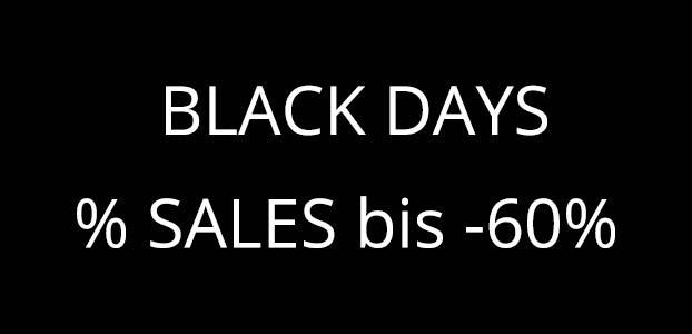 Black Days im Kinderzimmerhaus