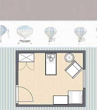 Grundrissplanung Babyzimmer