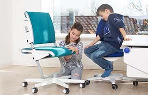 Schreibtischstühle im Kinderzimmerhaus
