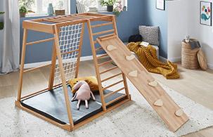 Spielmöbel im Kinderzimmerhaus