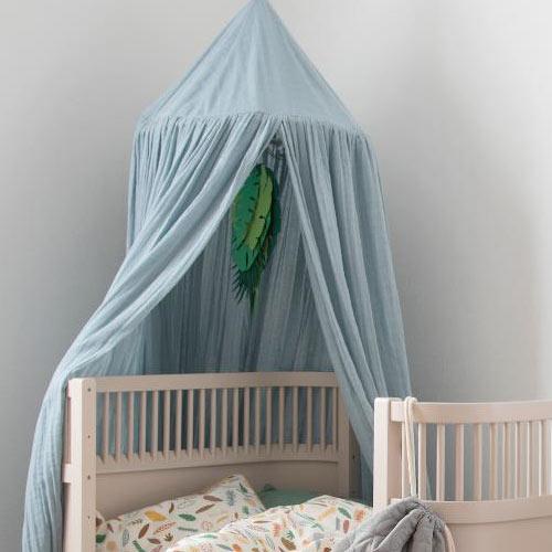 sebra Baldachin Eukalyptus Blau