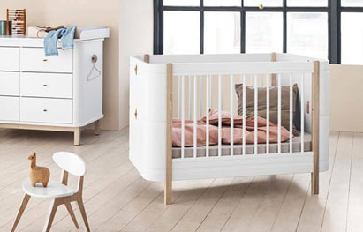 Oliver Furniture Wood Mini+ Babybett