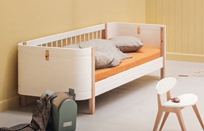 Wood Mini+ als Juniorbett