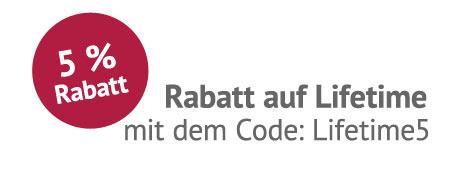 Lifetime Rabattcode
