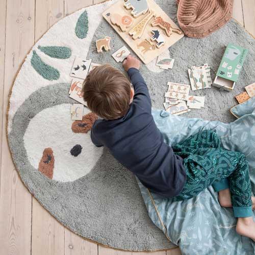 sebra Teppich Wildlife Lacey das Faultier