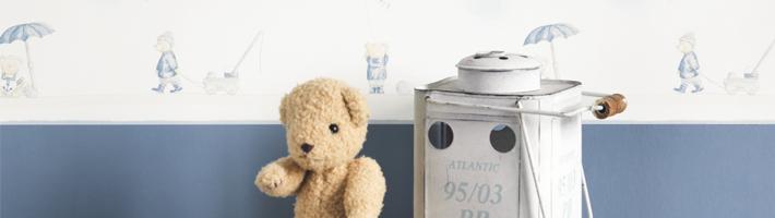 Bordüren im Babyzimmer