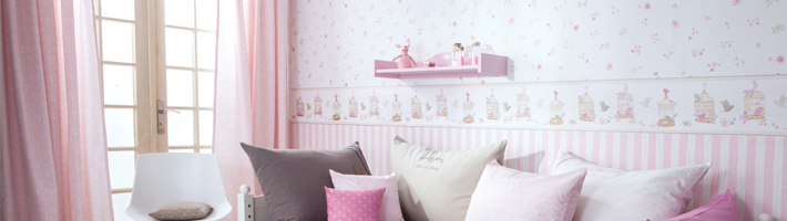 vorh nge kinderzimmer m dchen. Black Bedroom Furniture Sets. Home Design Ideas