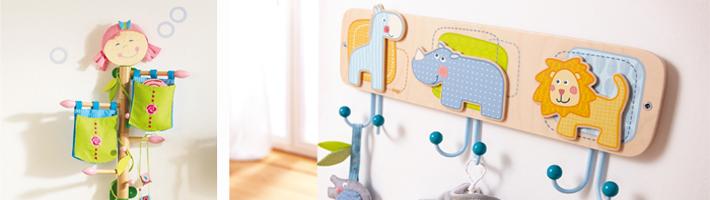 Kindergarderobe & Wandhaken online kaufen - Kinderzimmerhaus
