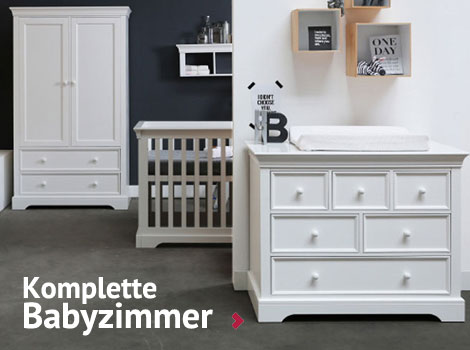 babyzimmer einrichten babyzimmer komplett kaufen. Black Bedroom Furniture Sets. Home Design Ideas