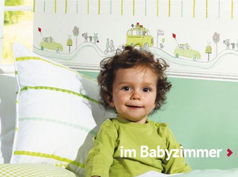 Bordüren für das Babyzimmer im Kinderzimmerhaus online kaufen.