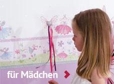 Bordüren für Mädchenzimmer im Kinderzimmerhaus online kaufen.