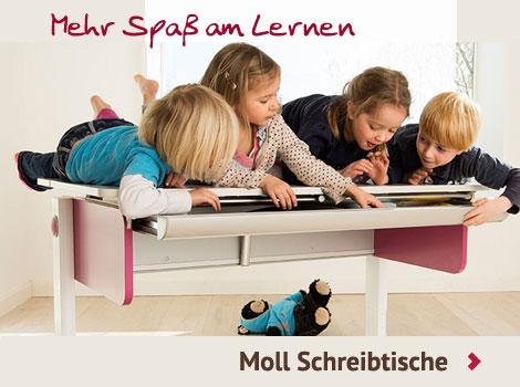 Kinderschreibtisch von moll im Kinderzimmerhaus