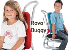 Kinderschreibtischstuhl Rovo Buggy
