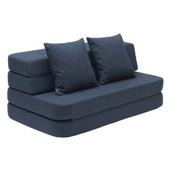 byKlipKlap 3-Fold-Sofa 120 cm Dunkelblau