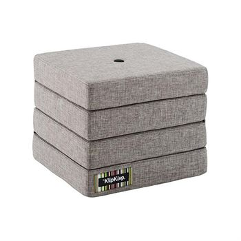 byKlipKlap 4-Fold-Matratze Grau
