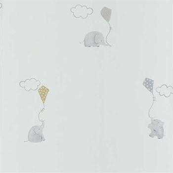 Casadeco My Little World Tapete Elefanten