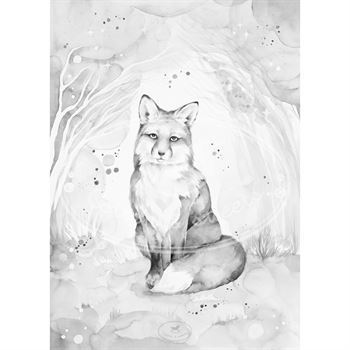cotton--sweets-poster-lovely-fox-50x70-cm LF39103-1