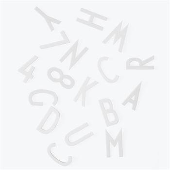 Design Letters Buchstaben Set für Message Board 5 cm Weiß