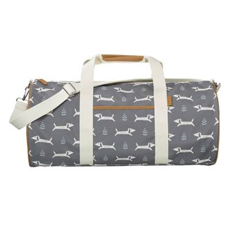 fresk-weekender-tasche-groSS-dackel-grau FB920-14-1