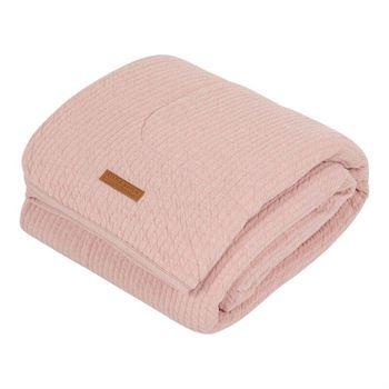 Little Dutch Babydecke Pure & Soft Pure Pink