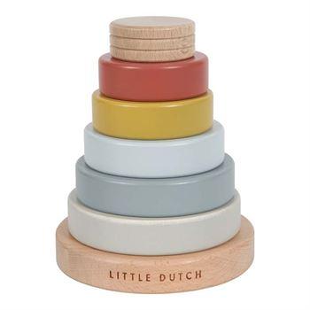 Little Dutch Holz-Ringpyramide