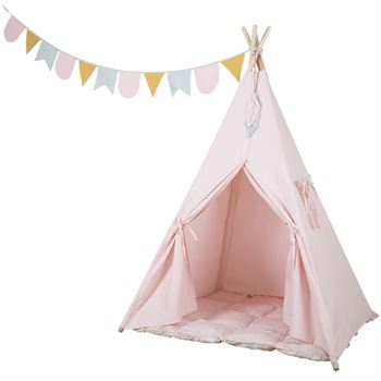 Little Dutch Tipi Spielzelt Rosa