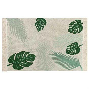 Lorena Canals Waschbarer Teppich Tropical Green