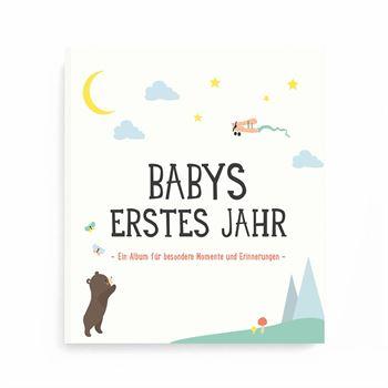Milestone Album Babys erstes Jahr