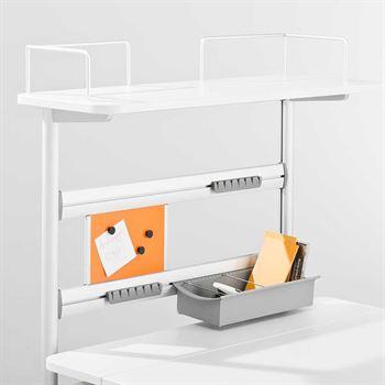 Moll Flex Deck für Schreibtisch Champion Compact