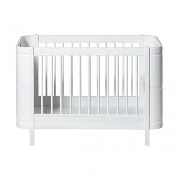 Oliver Furniture Baby- und Juniorbett Wood Mini+ Weiß