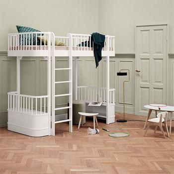 oliver-furniture-hochbett-wood-weiSS-leiter-vorne OF041430-1