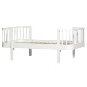Oliver Furniture Kinderbett Wood 90 x 160 cm Weiß
