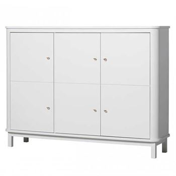 Oliver Furniture Sideboard Multi-Schrank Wood Weiß