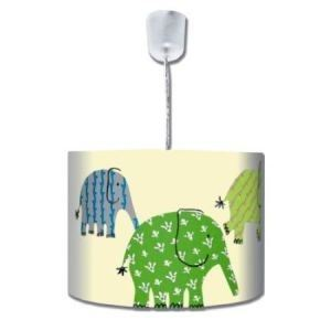 Pendelleuchte Elefant