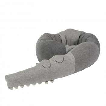 Sebra Bettschlange Sleepy Croc grau