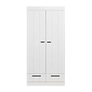 Woood 2-türiger Kleiderschrank Connect Weiß