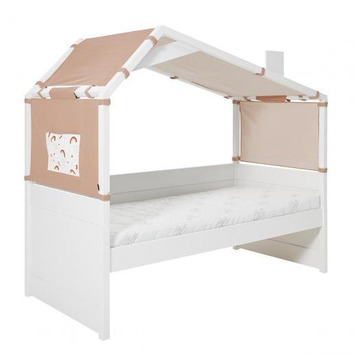 Cool Kids Tagesbett mit Hüttendach Rainbow Ohne Schubladen | ohne